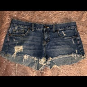 Victoria Secret Pink Denim Shorts